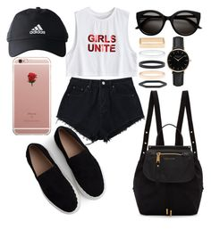 """""""Untitled #102"""" by emilizastyles ❤ liked on Polyvore featuring Marc Jacobs, Chloé, adidas, Accessorize, ROSEFIELD and ETUÍ"""