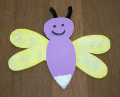 firefly template for kids | Firefly craft almost complete