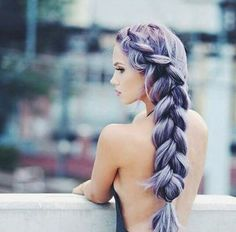 Imagem de hair, hairstyle, and braid