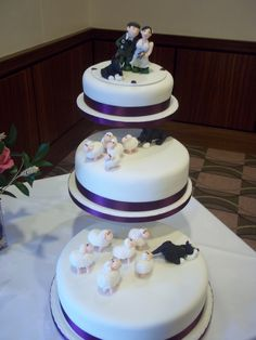 From Debsdelightscakescouk Wedding Cakes