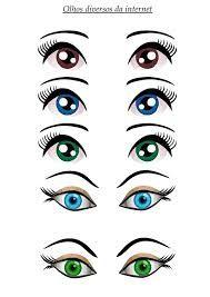 Resultado de imagem para olhos desenho