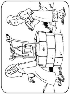 1040 720 saul road to damascus for Paul on damascus road coloring page