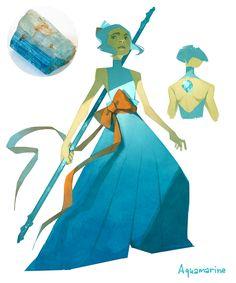 Lexxy's Draw Blog : Aquamarine