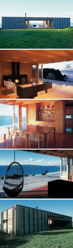 Container House - COROMANDEL BACH SHIPPING CONTAINER HOME - Who Else Wants Simple Step-By-Step Plans To Design And Build A Container Home From Scratch? #ShippingContainerHomePlans