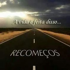 #recomeços