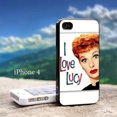 Lucille Ball (I Love Lucy) - Design For iPhone 4 / 4s Black Case | GoToArt - Accessories on ArtFire