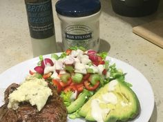 We are having a relaxed weekend, and dinner will be the same. I found 2 sirloin steaks from Market Porter in the freezer, so will griddle them and serve with a salad and Boiled potatoes  for Hubby,…
