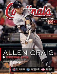 """Allen Craig - Cardinals Magazine  """"CRAIGERS"""""""