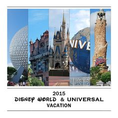 Front cover of Disney/Universal photobook