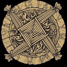 Symbol of Brigid, Dea Brigantia, Brigantes