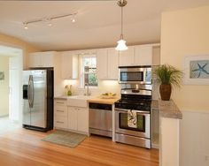 One Wall Kitchen | Home Design Trends