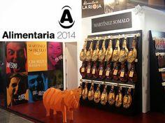 #LaRioja participa en #Alimentaria2014 con la representación de más de cincuenta empresas riojanas.