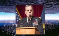 Chefe do Estado Maior do Exército dos EUA avisa para se preparar para uma invasão ALIENÍGENA? PROJETO BLUE BEAN EM ANDAMENTO????