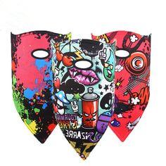 56.88$  Watch now - http://alia9u.worldwells.pw/go.php?t=32776541701 - New ski Mask winter Ski Snowboard mask Motorcycle Winter skiing bibs Warmer Sport Pirates Printed Triangular Scarf Skiing Mask 56.88$