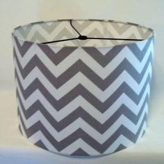 "Cyber Monday Sale Large Drum Lamp Shade 17"" X 12""  Pendant Light Shade, Custom drum shade choose fabric"