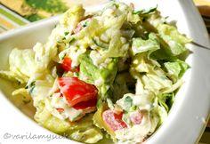Cuketový salát Guacamole, Potato Salad, Cabbage, Potatoes, Mexican, Vegetables, Ethnic Recipes, Food, Meal
