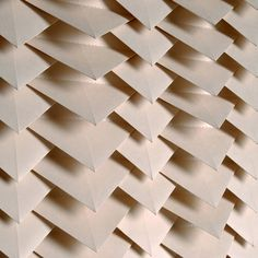 Origami wallpaper  Tracey Tubb Tent London 2014