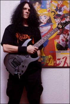Trey Azagthoth from Morbid Angel. He's my second favorite guitarist.