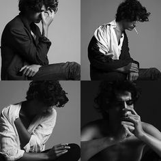 Louis Garrel by Hedi Slimane Louis Garrel, Nicholas Hoult, Men Photoshoot, Saint Laurent Paris, Poses, Dreadlocks, Lookbook, Character Aesthetic, Best Actor