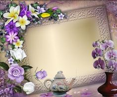 Photo Background Images, Photo Backgrounds, Frame Clipart, Decoupage Paper, Flower Cards, Floral Wreath, Clip Art, Wreaths, Flowers
