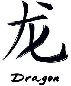 Chinese Zodiac Dragon Tattoo