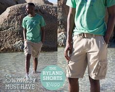 Old Khaki Summer Must Have- Ryland shorts