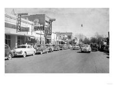 Hermiston, Oregon, in days gone by.
