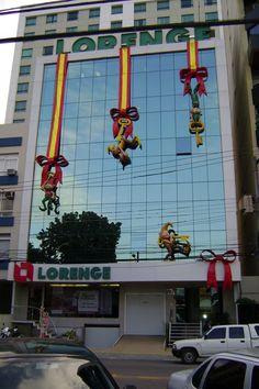 mascotes em fibra de vidro decoração natal lorenge