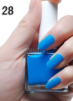 Great Blue 12ML Fashion Matte Nail Polish Products We Love | Nail matte nail polish