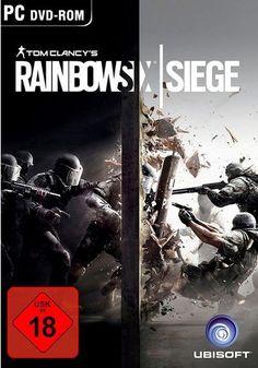 Tom Clancy& Rainbow Six Siege - Xbox One: UbiSoft: Video Games Tom Clancy's Rainbow Six, Playstation Games, Xbox One Games, Ps4 Games, Games Consoles, Grand Theft Auto, Nintendo 3ds, Nintendo Switch, Combat Rapproché