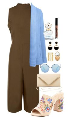 """""""playsuit"""" by bubble-tea-dan ❤ liked on Polyvore featuring Boohoo, ALDO, Lands' End, Warehouse, Jules Smith, Charlotte Russe, Matthew Williamson, Too Faced Cosmetics, Marc Jacobs and NYX"""