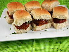The-Tasty-Fork-slowcooker-recipe-Crockpot-Meatball-Sliders-with-Peach-Chipotle-BBQ-Sauce  DIY Recipe Book