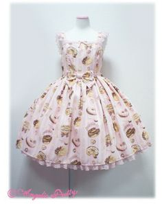 The same paragraph Angelicpretty, Melty Cream donuts waist type sundresses \ tricolor \ deposit -! Taobao