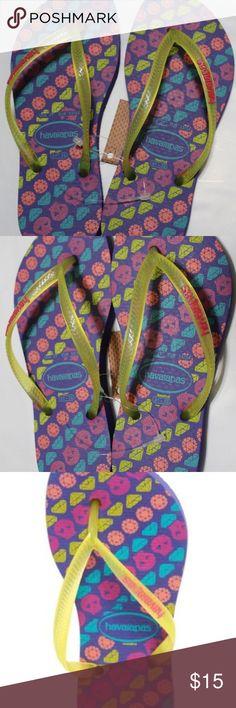 d65209160106 Havaianas Ice Violet Slim Trend Flip Flop Havaianas Ice Violet Slim Trend  Flip Flop color  Ice Violet size  US 2Y EUR 33 34 BR 31-32 Thong sandal  with ...