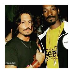"""We are with you Johnny Depp! (@teamjdepp) on Instagram: """"Look who just posted a picture  @snoopdogg with #JohnnyDepp in 2001 ❤ #TeamDepp #TeamJDepp"""""""