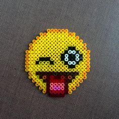 Emoticon hama beads by dearrobin_