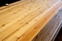 Cedar lumber - It wo