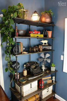 Of Pipe and Pine - The Navage Patch- DIY shelf