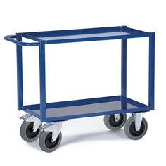 GTARDO.DE:  Tischwagen Blechwanne (2 Etagen), Tragkraft 400 kg, Ladefläche 895x495 mm 214,00 €