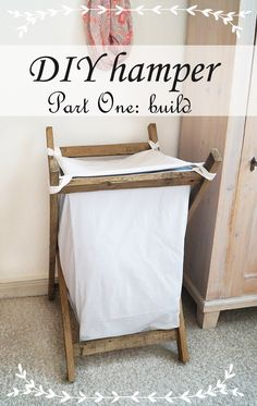 DIY: Here I will show you how you can build this hamper out of pallets