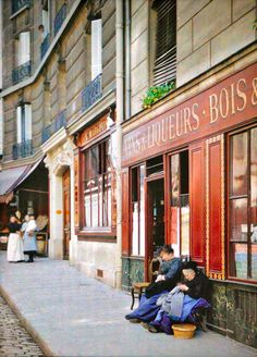 25 rue des Boulangers   PARIS 1914