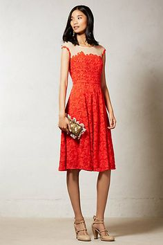 Roseland Dress, Anthropologie