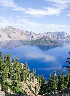 Crater Lake near Medford, Oregon Copyright iStockPhoto.com/elkor #Medford #Oregon #Greatplaces Stunning!!!!
