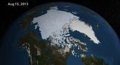 El hielo en El Ártico aumenta en comparación al año pasado ¿Estamos ante un enfriamiento global? http://s.shr.lc/17theZS