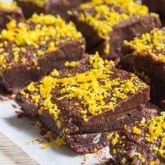 Raw Chocolate Orange Brownies