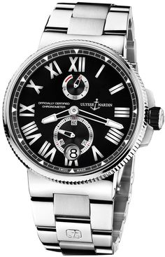 Ulysse Nardin Marine Chronometer Manufacture 1183-122-7M/42