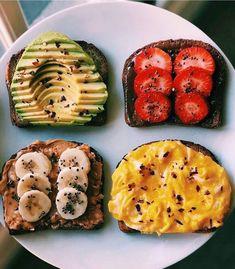 10 Easy and Healthy Breakfast Menu Idea - Assyifa Website Healthy Breakfast Menu, Healthy Snacks, Breakfast Recipes, Healthy Recipes, Breakfast Toast, Dinner Healthy, Eating Healthy, Healthy Habits, Breakfast Ideas