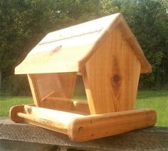 Bird Feeder Wood