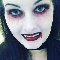 Makeup vamp Halloween