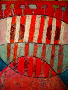 """Elke Trittel - 21st September painting from her extraordinary """"365 Art"""" series… #FredericCl #FredericClad"""